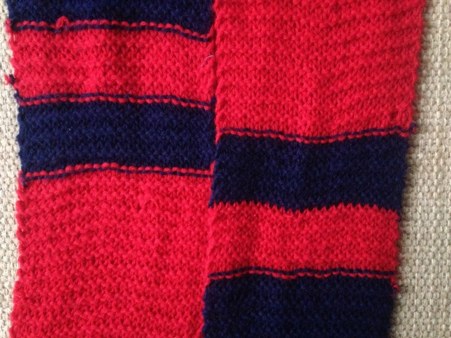 Spider-man Scarf Stripes