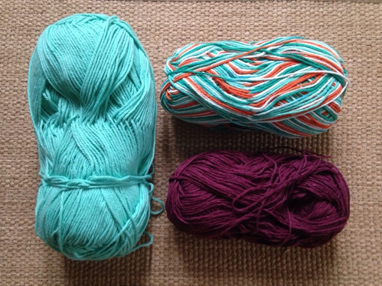 Various Colors of Cotton Yarn