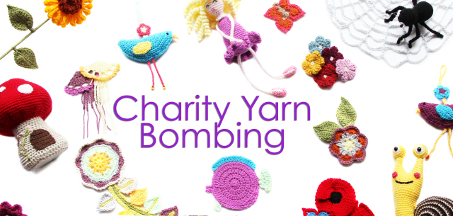 The Grange Range Charity Yarn Bombing