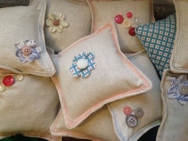 Pile of Balsam Fir Pillows