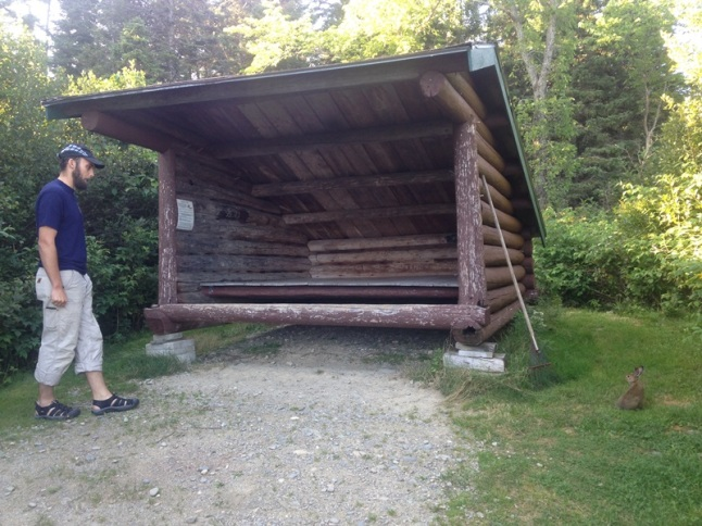 Nesowadnehunk Stream Campground Leanto