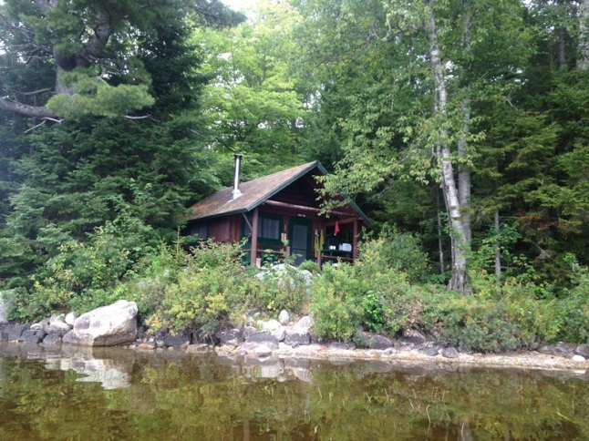 Cabin number 11, Kidney Pond