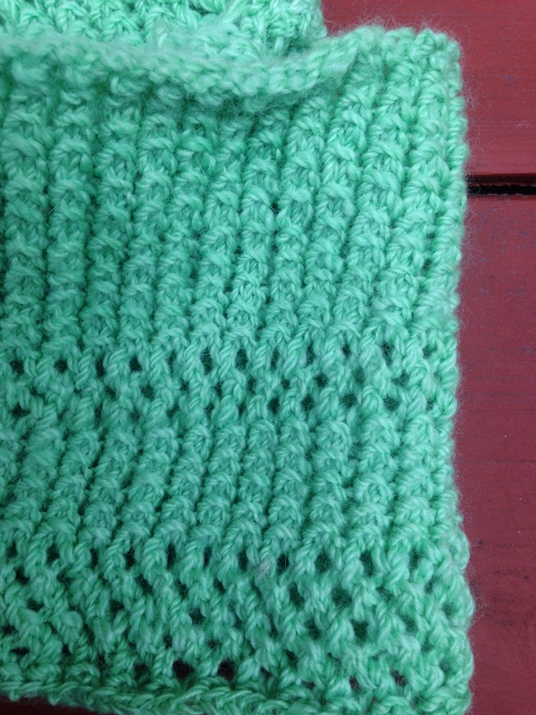 Seafoam summer finished cowl