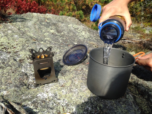 Trangia Stove Boiling Water Test